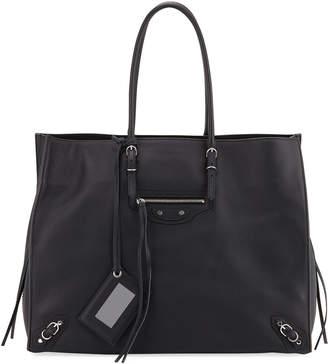 Balenciaga Papier A4 Zip-Around Tote Bag