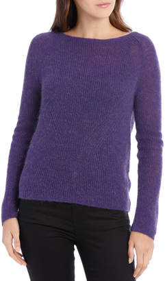 Sweater Crew Neck Mohair Blend