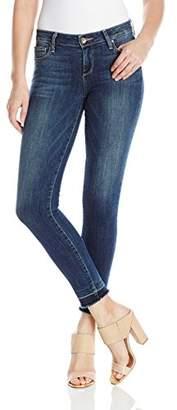"Paige Women's Verdugo Ankle Jeans with 3/4"" Undone Hem"