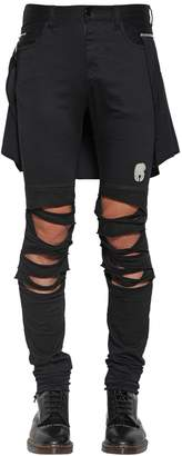 Undercover Cotton Pants W/ Detachable Panel