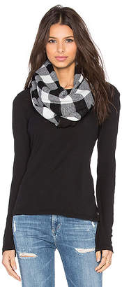 Plush Fleece Lined Plaid Infinity Scarf
