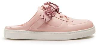Sophia Webster Lilico Jessie backless leather trainers