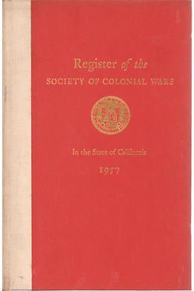 California Colonial Society of 1957