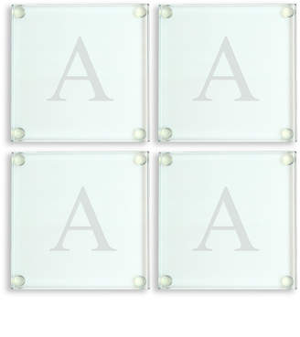 Cathy's Concepts Cathys Concepts Set Of 4 Monogrammed Coasters