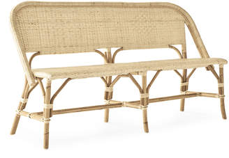 Serena & Lily Riviera Bench - Natural