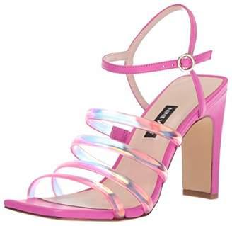 Nine West Women's LAXIAN Synthetic Heeled Sandal
