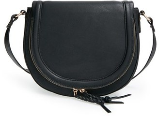 Sole Society 'Thalia' Crossbody Bag - Black $49.95 thestylecure.com