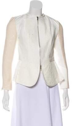 Nina Ricci Long Sleeve Zip-Up Jacket
