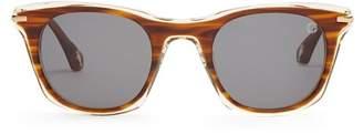 Blake Kuwahara - Mc Intire Acetate Sunglasses - Mens - Brown Multi