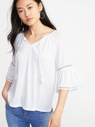 Old Navy Bell-Sleeve Swing Top for Women