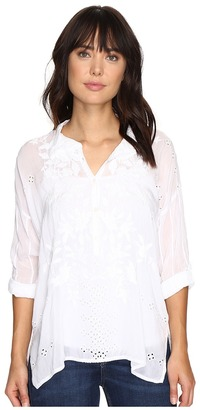 Johnny Was - Faith Shirt Women's Clothing $248 thestylecure.com