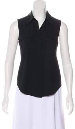 A.L.C. Sleeveless Button-Up Top
