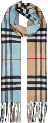 Burberry Reversible Check Scarf