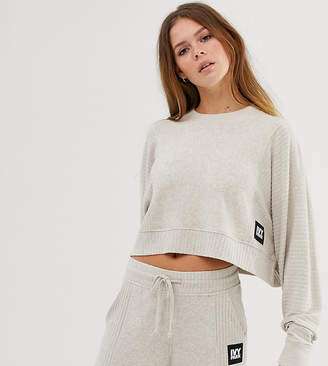 Ivy Park loungewear sweatshirt in sand