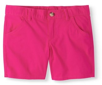 Wonder Nation Girls' Chino Shorts