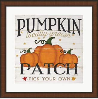 Pumpkin Patch by Jennifer Pugh Framed Art