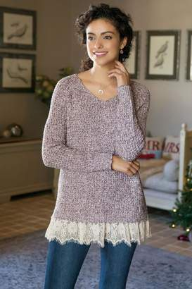 Soft Surroundings Soft Spoken Sweater