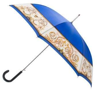 Gianni Versace Printed Oversize Umbrella