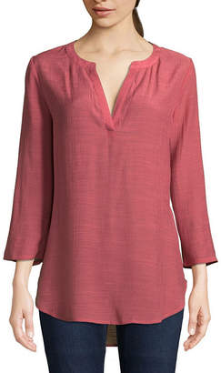 ST. JOHN'S BAY Roll Tab Tunic - Tall