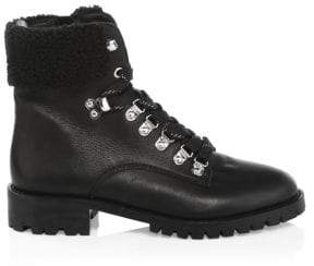 Rebecca Minkoff Jaylin Leather Hiking Boots