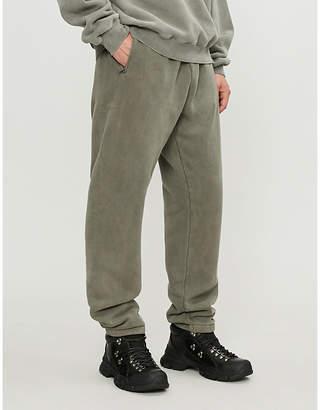 Yeezy Season 6 cotton-fleece jogging bottoms