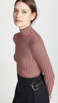 15c6d314d00 Fitted Spandex Turtleneck Sweater - ShopStyle