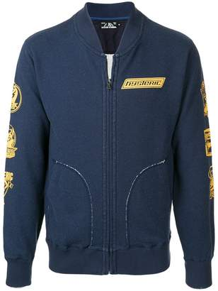 Hysteric Glamour full zip sweatshirt with print