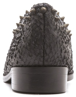 Zadig & Voltaire Phoebe Studded Laceless Oxfords