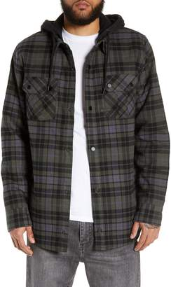 Volcom Insulated Flannel Shirt Jacket