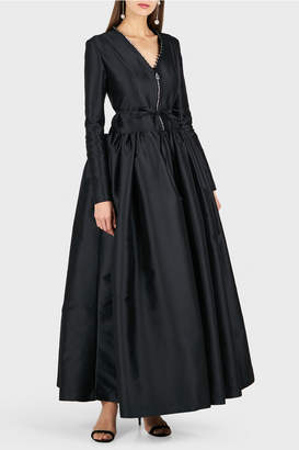 Alexis Mabille Long Sleeve Ball Gown
