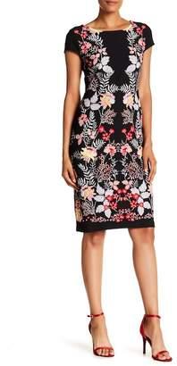Sandra Darren Cap Sleeve Dress