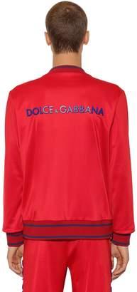 Dolce & Gabbana Casual Bomber Jacket W/ 3d Logo