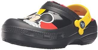 Crocs (クロックス) - [クロックス] クリエイティブ クロッグ ミッキー ラインド クロッグ キッズ クロッグ 203532 Black C12/13(18.5cm)