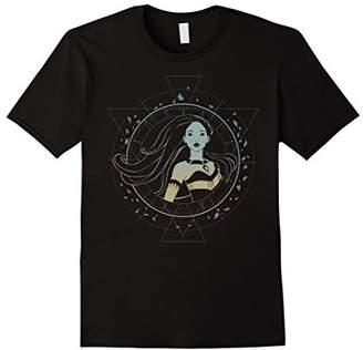 Disney Pocahontas Boho Geo Ombre Compass Graphic T-Shirt