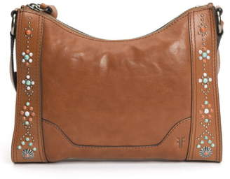 Frye Melissa Concho Studded Leather Crossbody Bag