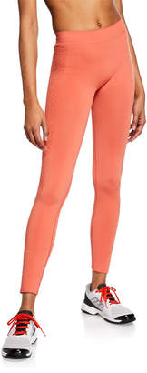 adidas by Stella McCartney Seamless High-Rise Running Tights
