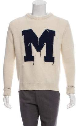 MAISON KITSUNÉ Wool Crew Neck Sweater