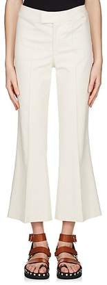 Isabel Marant Women's Nyree Cotton-Blend Flared Pants