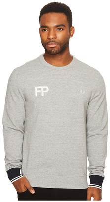 Fred Perry FP Logo Sweatshirt Men's Clothing