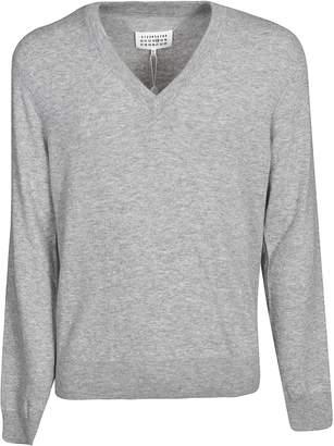 Maison Margiela Padded Elbow Sweater