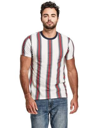 Factory Guess Men's Jack Striped Tee