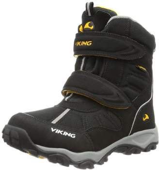 Viking Unisex - Child BLUSTER II Gore-Tex Snow Boots Black Schwarz (black/grey 203) Size: