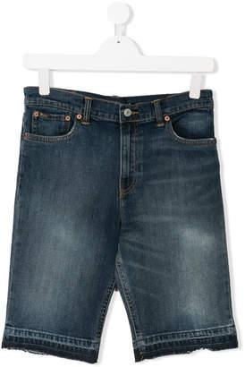 Ralph Lauren Teen knee-length denim shorts