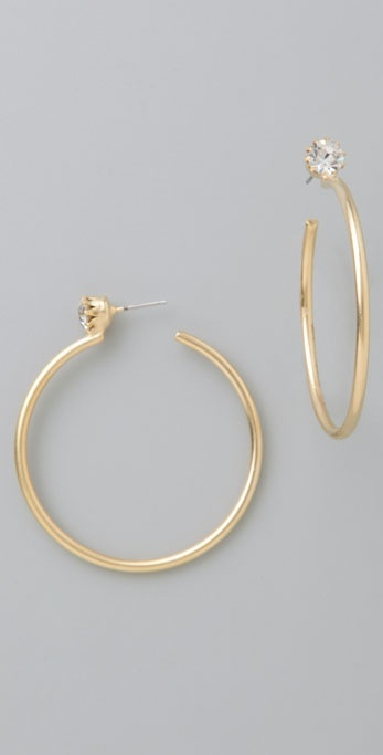 Dannijo Mia Hoop Earrings