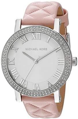 4223d8d2e8364 at Amazon.co.uk · Michael Kors Women s Analogue Quartz Watch with Leather  Strap MK2617