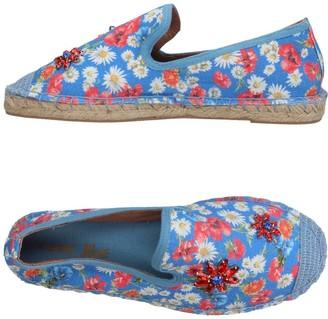 Coral Blue Espadrilles - Item 11385579RT