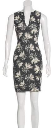 L'Agence Sleeveless Printed Dress
