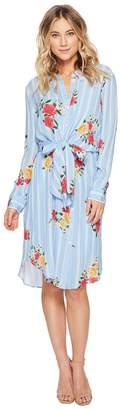 Adelyn Rae Iris Shirtdress Women's Dress