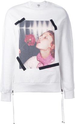 Kenzo graphic print sweatshirt $545 thestylecure.com