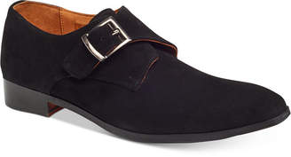 Carlos by Carlos Santana Men's Freedom Single Monk-Strap Suede Loafers Men's Shoes
